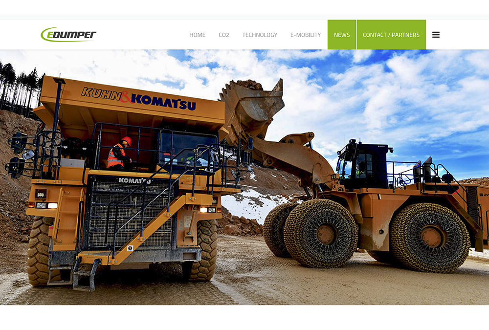The E Dumper Will Be An Entirely Electric Ed Dumptruck Its Battery Equal To Those From Seven Tesla Cars
